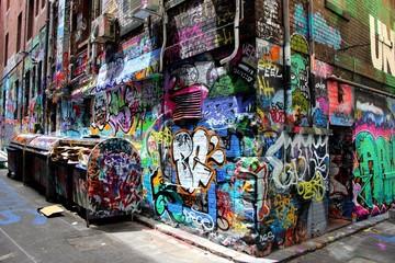 Hosier Lane, Melbourne, Victoria, Australie