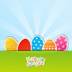 Easter paper card