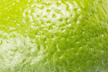 Close up of fresh green lime