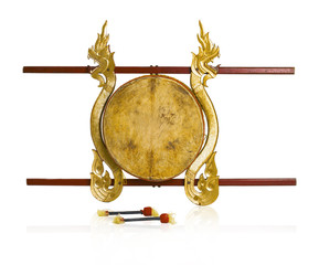 Thai drums musical instrument antique and hard to find