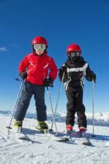 2 copains au ski