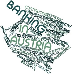 Word cloud for Banking in Austria