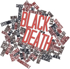 Word cloud for Black Death