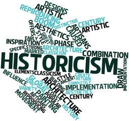 Word cloud for Historicism