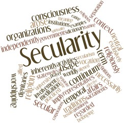 Word cloud for Secularity