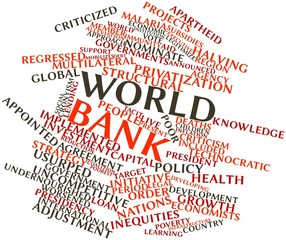 Word cloud for World Bank
