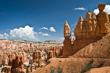 Photo sur Aluminium Parc Naturel Cheminée de fée à Bryce Canyon - Utah, USA