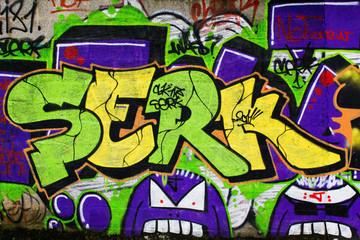 In de dag Graffiti Graffiti 25