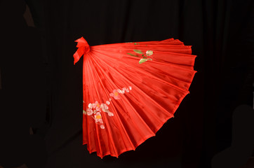 Red Asian Umbrella