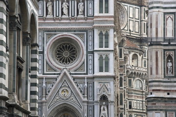 Detail of the Duomo in Florence
