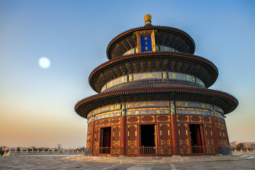 Poster Beijing Temple of Heaven in Beijing