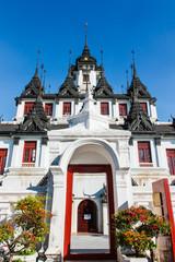 Castle entrance gate metal.