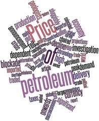 Word cloud for Price of petroleum