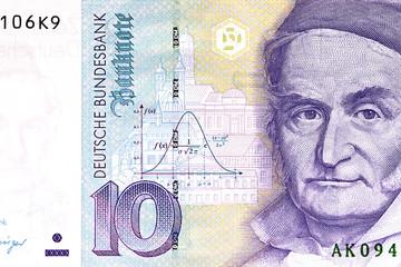 Ausschnitt Banknote