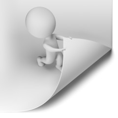 3d small people - scroll the page