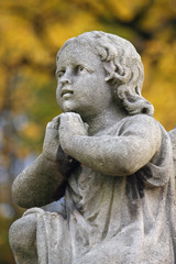 Figure Of A Praying Angel