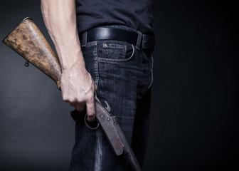 old shotgun