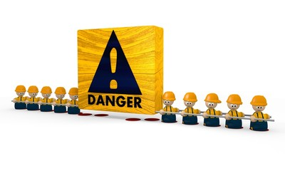 builder Danger symbol