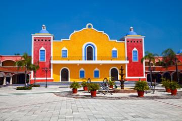 Photo sur Plexiglas Mexique Mexican Hacienda
