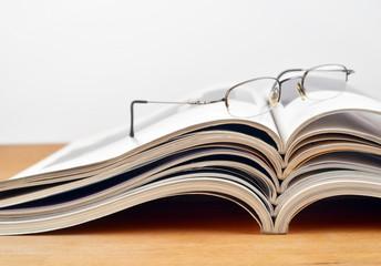 Lesepause und Magazine