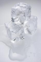 Hielo, cubitos de hielo, refresco