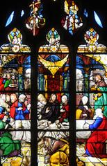 France, the church Saint Martin of Triel sur Seine