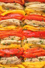 escalivada, grilled marinated vegetables