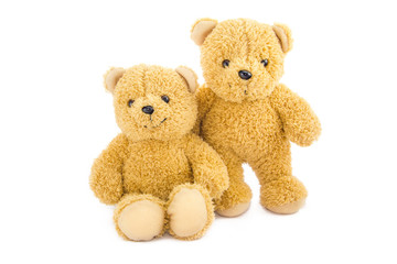 two bear toys