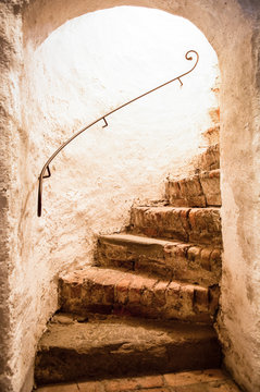 old staircase