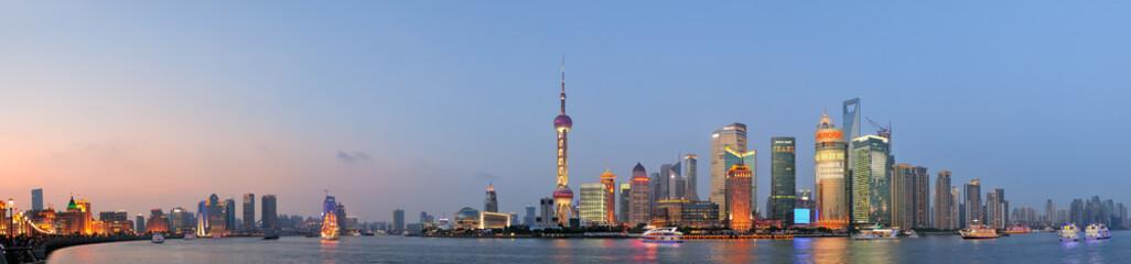 Fotomurales - Shanghai cityscape