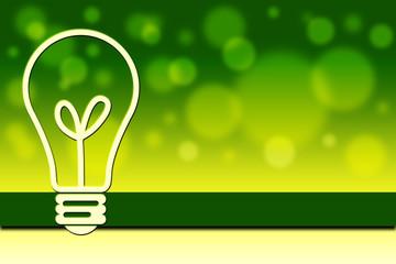 Écologie Ampoule