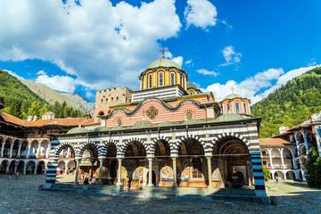 Rila monastery, a famous monastery in Bulgaria Wall mural