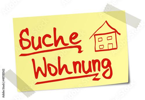 Suche wohnung post it 130120 svg01 stockfotos und for Eigentumswohnung suchen