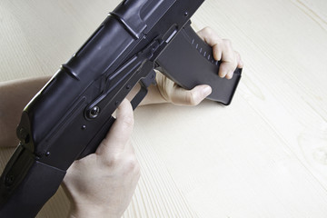 Machinegun pointing