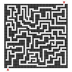 Labyrinth pixel design