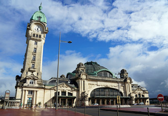 Railway station of Limoges