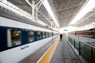 Train station in china