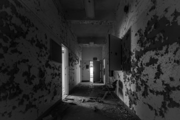 Old Hallway in the Hospital