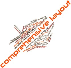 Word cloud for Comprehensive layout