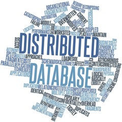 Word cloud for Distributed database