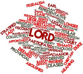 Word cloud for Lord