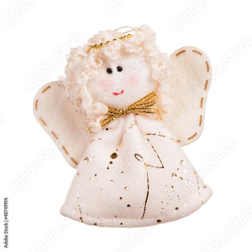 """angel doll made from fabric"" Стоковая фотография и роялти-фри изображение на Fotolia.ru - Pic 48749914"