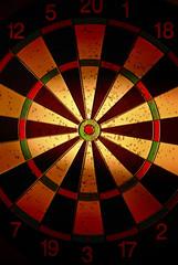 Wall Mural - target for darts
