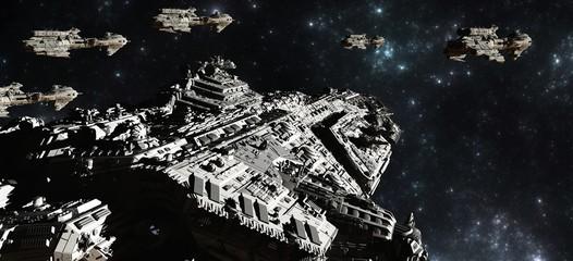 Space Battle Fleet Deployment