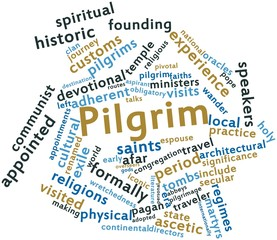 Word cloud for Pilgrim