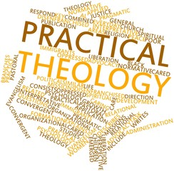 Word cloud for Practical theology
