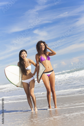 PHOTO OF GIRLS AT BEACH