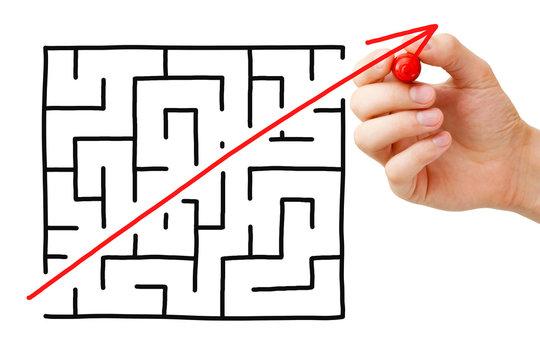 Maze Shortcut Concept