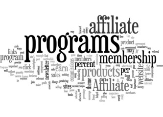 Affiliate Program to Membership Sites Concept