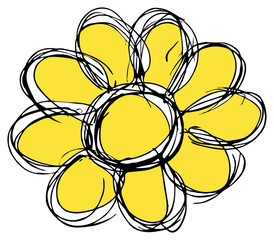 gelbe Blume...